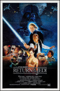 "Movie Posters:Science Fiction, Return of the Jedi (20th Century Fox, 1983). International OneSheet (27"" X 41"") Style B. Science Fiction.. ..."