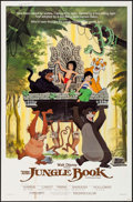 "Movie Posters:Animation, The Jungle Book (Buena Vista, R-1984/R-1987). One Sheets (2) (27"" X 41""). Animation.. ..."
