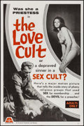 """Movie Posters:Adult, The Love Cult (Arcanum, 1966). One Sheet (27"""" X 41""""). Adult.. ..."""