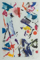 Sam Francis (1923-1994) Untitled (SFE-055), 1989 Aquatint and etching in colors on wove paper 9 x 5-7/8 inches (22.9