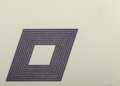 Fine Art - Work on Paper:Print, Frank Stella (b. 1936). Carl Andre, from PurpleSeries, 1972. Lithograph in colors. 16 x 22 inches (40.6 x 55.9cm) ...