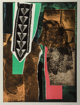 Louise Nevelson (1899-1988) Reflections, 1983 Etching with aquatint in colors on wove paper 39-1/2 x 29-1/2 inches (1