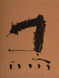 Prints & Multiples, Robert Motherwell (1915-1991). Untitled, 1965-66. Lithograph. 25-1/4 x 20 inches (64.1 x 50.8 cm) (sheet). A.P.. Signed ...