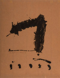 Robert Motherwell (1915-1991) Untitled, 1965-66 Lithograph 25-1/4 x 20 inches (64.1 x 50.8 cm) (s
