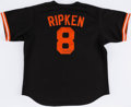 Autographs:Jerseys, Cal Ripken Jr. Signed Baltimore Orioles Jersey....