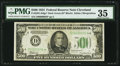 Small Size:Federal Reserve Notes, Fr. 2201-D* $500 1934 Federal Reserve Note. PMG Choice Very Fine 35.. ...