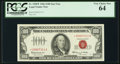 Small Size:Legal Tender Notes, Fr. 1550* $100 1966 Legal Tender Note. PCGS Very Choice New 64.. ...