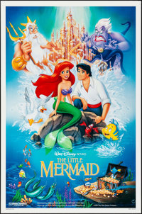"The Little Mermaid (Buena Vista, 1989). One Sheet (27"" X 41"") DS. Animation"