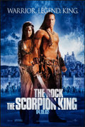 "Movie Posters:Fantasy, The Scorpion King (Universal, 2002). Rolled, Very Fine. One Sheets(14) (27"" X 40"") DS, Advance, Two Styles. Fantasy.. ... (Total: 14Items)"