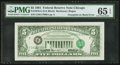 Error Notes:Third Printing on Reverse, Third Printing on Back Error Fr. 1976-G $5 1981 Federal Reserve Note. PMG Gem Uncirculated 65 EPQ.. ...