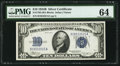 Small Size:Silver Certificates, Fr. 1703 $10 1934B Silver Certificate. PMG Choice Uncirculated 64.. ...