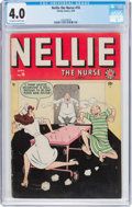 Golden Age (1938-1955):Romance, Nellie the Nurse #18 (Timely/Marvel, 1949) CGC VG 4.0 Off-white towhite pages....