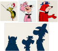 Animation Art:Production Cel, Yogi's Treasure Hunt Production Cels Group of 4(Hanna-Barbera, 1985).... (Total: 4 )