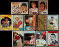 Autographs:Sports Cards, Signed 1950's-1970's Baseball Card Collection (12). ...