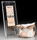 Other, Three United States Presidential Campaign Items: William McKinley, William Howard Taft, circa 1896. 32-1/2 inches long (82.6... (Total: 3 Items)