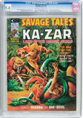 Magazines:Superhero, Savage Tales #8 (Marvel, 1975) CGC NM 9.4 Off-white to whitepages....