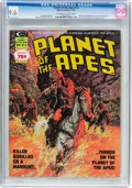 Magazines:Science-Fiction, Planet of the Apes #14 (Marvel, 1975) CGC NM+ 9.6 Off-white towhite pages....