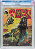 Magazines:Science-Fiction, Planet of the Apes #16 (Marvel, 1976) CGC NM+ 9.6 Off-white towhite pages....