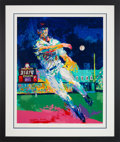 Baseball Collectibles:Others, 1995 Cal Ripken Jr. Serigraph by LeRoy Neiman, Signed by Both. ...