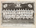 Football Collectibles:Photos, 1953 Baltimore Colts Team Signed Photograph - Franchise's Inaugural NFL Season!...