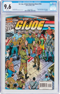 G. I. Joe, A Real American Hero #155 (Marvel, 1994) CGC NM+ 9.6 White pages