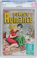 Golden Age (1938-1955):Romance, First Romance Magazine #30 File Copy (Harvey, 1954) CGC VF+ 8.5Light tan to off-white pages....