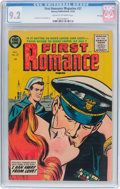 Golden Age (1938-1955):Romance, First Romance Magazine #37 File Copy (Harvey, 1955) CGC NM- 9.2Cream to off-white pages....