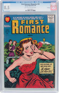 Golden Age (1938-1955):Romance, First Romance Magazine #39 File Copy (Harvey, 1956) CGC VF+ 8.5Light tan to off-white pages....