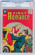 Golden Age (1938-1955):Romance, First Romance Magazine #41 File Copy (Harvey, 1956) CGC VF/NM 9.0Cream to off-white pages....
