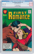 Silver Age (1956-1969):Romance, First Romance Magazine #46 File Copy (Harvey, 1957) CGC VF+ 8.5Light tan to off-white pages....