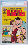 Silver Age (1956-1969):Romance, First Romance Magazine #47 File Copy (Harvey, 1957) CGC VF/NM 9.0Cream to off-white pages....