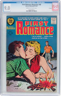 Silver Age (1956-1969):Romance, First Romance Magazine #48 (Harvey, 1957) CGC VF/NM 9.0 Cream tooff-white pages....