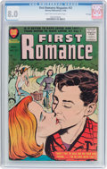 Silver Age (1956-1969):Romance, First Romance Magazine #52 File Copy (Harvey, 1958) CGC VF 8.0Light tan to off-white pages....