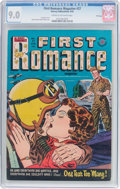 Golden Age (1938-1955):Romance, First Romance Magazine #27 File Copy (Harvey, 1954) CGC VF/NM 9.0Cream to off-white pages....