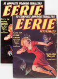Pulps:Detective, Eerie Mysteries V1#1 (Magazine Publishers Inc., 1938-2005)Condition: GD+.... (Total: 2 Items)