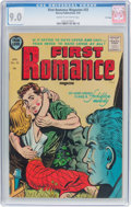 Golden Age (1938-1955):Romance, First Romance Magazine #33 File Copy (Harvey, 1955) CGC VF/NM 9.0Cream to off-white pages....