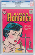 Golden Age (1938-1955):Romance, First Romance Magazine #34 File Copy (Harvey, 1955) CGC VF/NM 9.0Cream to off-white pages....