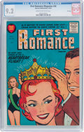 Golden Age (1938-1955):Romance, First Romance Magazine #36 File Copy (Harvey, 1955) CGC NM- 9.2 Cream to off-white pages....