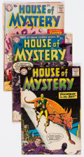 Silver Age (1956-1969):Horror, House of Mystery Group of 9 (DC, 1954-59) Condition: Average GD....(Total: 9 Comic Books)