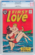 Golden Age (1938-1955):Romance, First Love Illustrated #56 File Copy (Harvey, 1955) CGC NM 9.4Cream to off-white pages....