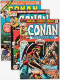 Bronze Age (1970-1979):Adventure, Conan the Barbarian and Others Group of 15 (Marvel, 1972-80) Condition: Average VF-.... (Total: 15 Comic Books)