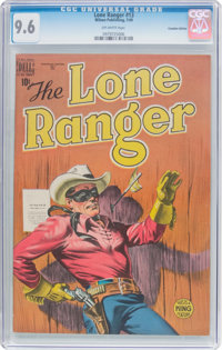 Lone Ranger #13 Canadian Edition (Wilson Publishing, 1949) CGC NM+ 9.6 Off-white pages