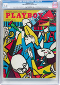 Magazines:Vintage, Playboy #10 (HMH Publishing, 1954) CGC FN/VF 7.0 Off-white to white pages....