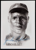 Autographs:Photos, Jackie Robinson Signed Photograph....