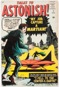Silver Age (1956-1969):Science Fiction, Tales to Astonish #2 (Marvel, 1959) Condition: GD....