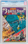 Silver Age (1956-1969):War, The Brave and the Bold #52 (DC, 1964) CGC VF 8.0 Off-white to white pages....
