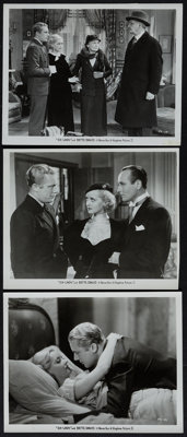 """Ex-Lady (Warner Brothers, 1933). Photos (2) & Trimmed Photo (8"""" X 10""""). Drama. ... (Total: 3 Items)"""