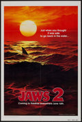 """Movie Posters:Horror, Jaws 2 (Universal, 1978). One Sheet (27"""" X 41"""") Teaser. Horror....."""