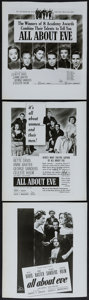 "Movie Posters:Academy Award Winners, All About Eve (20th Century Fox, 1950). Advertising Art Photos (3)(Approx. 8.25"" X 9.5""). Academy Award Winners.. ... (Total: 3Items)"