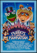 "Movie Posters:Comedy, The Muppets Take Manhattan (Tri-Star, 1984). One Sheet (27.5"" X 40.5""). Comedy.. ..."